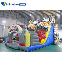 Giant inflatable park theme fun city party rental balloon theme inflatable slide for sale
