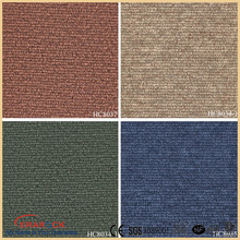 cheap price 18x18 pvc vinyl carpet