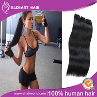 Raw Indian Hair Remy Indian temple hair Grade 7A Indian Virgin Hair Silky straight Unprocessed Virgin Indian Hair From India