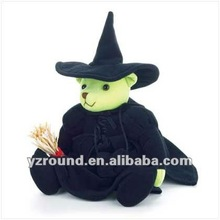 wizard of cuddle bear wicked witch plush