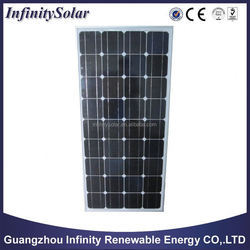 good price of china Poly 150W solar panel and solar module 12v from