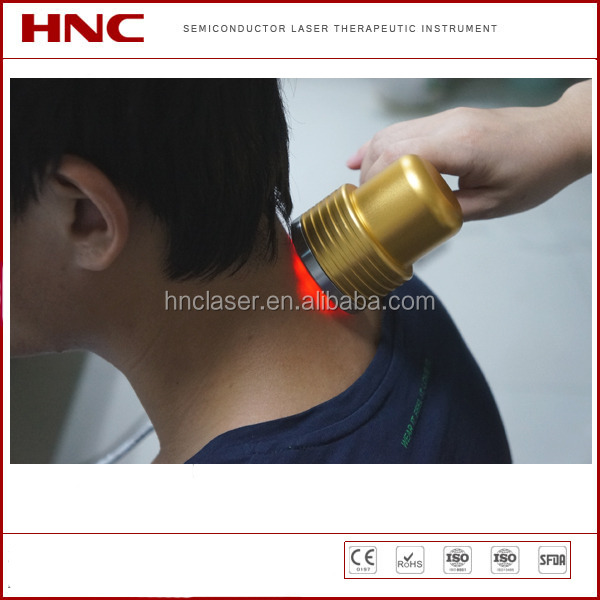 CE certified low level laser cervical spine physical therapy equipment