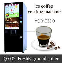 High quality easy to operate hot and cold coffee vending machine