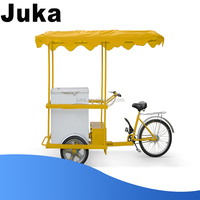 268 liters battery powered freezer with ice cream tricycle/cart/bikes
