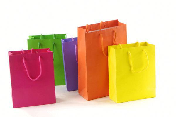 Customize Various Sizes Kraft Paper Gift Bags