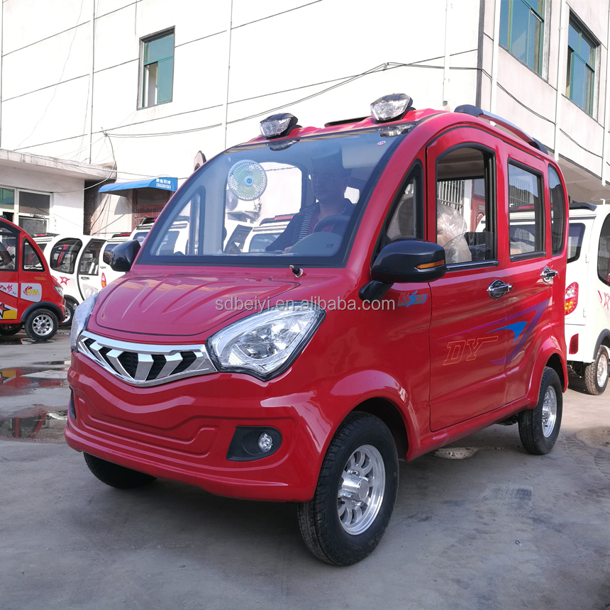 New Design CCC certificate 4 Wheels 4 Approval Adult Electric Vehicles china small electric car