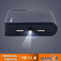 10000mAh portable mobile power bank for iphone5, 5S, 5C, Samsung