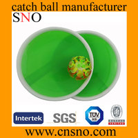 Diameter 18.5cm Plastic Catch Ball Small Flashing Suction cup ball