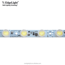 Edgelight super brightness SMD 3535 led light strip for fabric lightbox