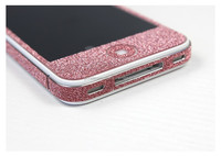 Bling bling skin stickers mobile phone, deluxe screen protectors for iphone 5