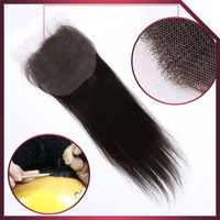 Hot selling best service virgin human hair cheap lace closure