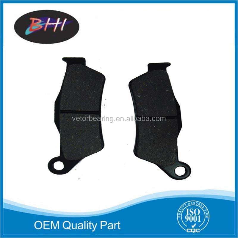 sintered motorcycle brake pad for atv motorcycle scooter pitbike motorbike utv sintering brake pads not semi-metel brake pad