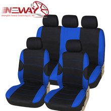 Hot selling customized car seat cover fabric with foam backing