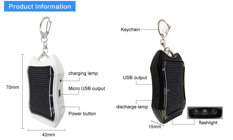 2017 mini carregador solar mini energia solar powerbank. Black Bedroom Furniture Sets. Home Design Ideas