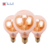 G80 1800K Glass Housing Cover Dimmable light for Decorative Use E27 E14 4w RN led bulb