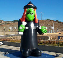 Halloween inflatable witch for sale S8003