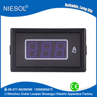 Blue LED 85 series 0-150A Ac digital amp meter with 220V AC panel mounted