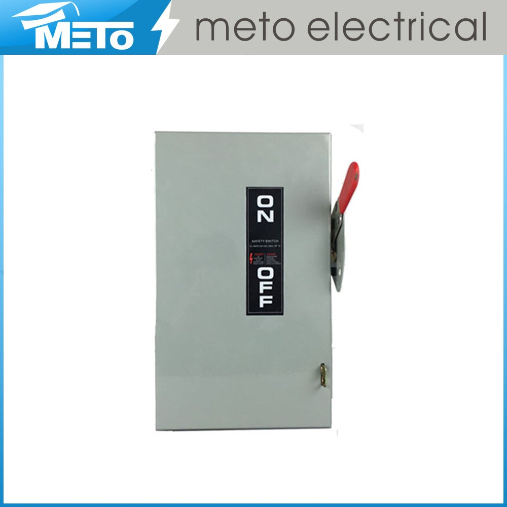 60 amp disconnect/safety switch/change over switch