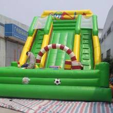 HI CE water park slides for sale,water park water slide frog slide,inflatable screamer water slide
