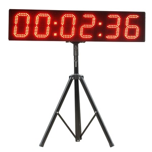 Alibaba Express Outdoor Large 6 Digit 8 Inch Sports LED Digital Countdown Clock for Race Marathon