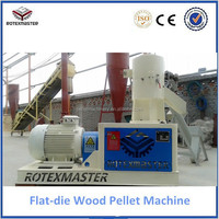 [ROTEX MASTER] 200-700kg/h logs,branch,wood chips,sawdust biomass wood pellet plant