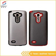 Guangzhou wholesale pc+tpu phone case for lg g3 stylus cover