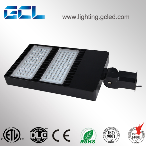 led flood light DLC ETL listed parking lot / high power LED shoe box light 300W