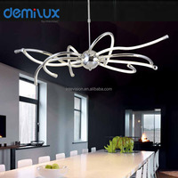2016 new design decorated lighting silicon modern led pendant light