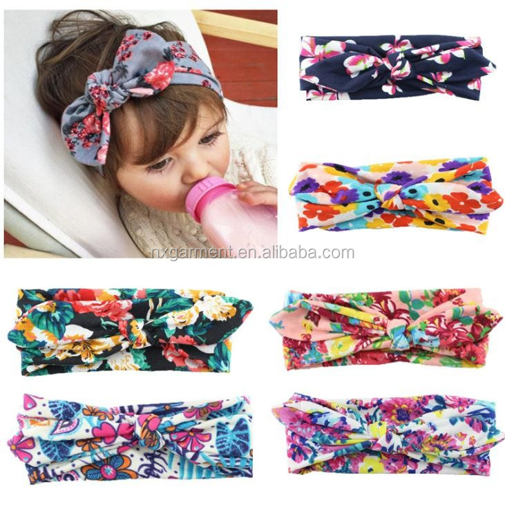 baby Headband <strong>Hair</strong> Band <strong>Accessories</strong> with print flower <strong>hair</strong> <strong>accessories</strong> headbands