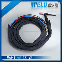 tig argon arc welding torch, co2 water cooled welding torch, tig welding machine for aluminiun