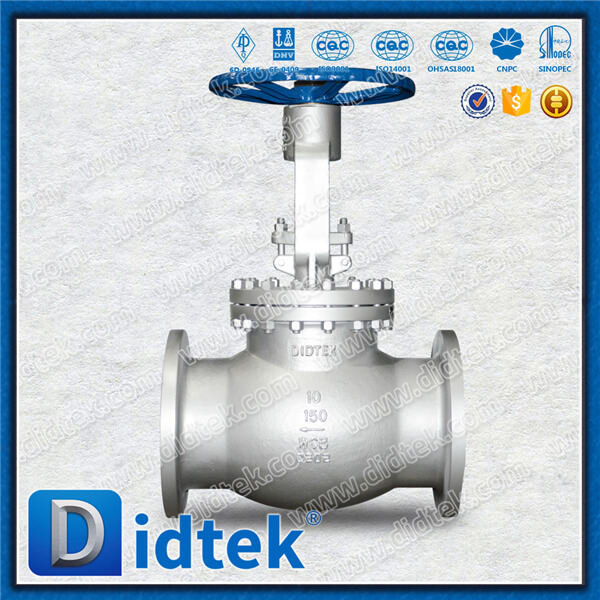 BS1873 Cast Steel Globe Valve for Steam Handwheel Operated 10 inch 150LB Flanged Ends