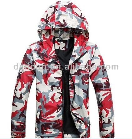 windproof and waterproof Camouflage winter sport coat