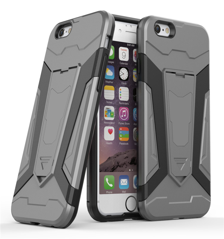 Toughness Armor Covers With Stander For Iphone 6s Plus Case