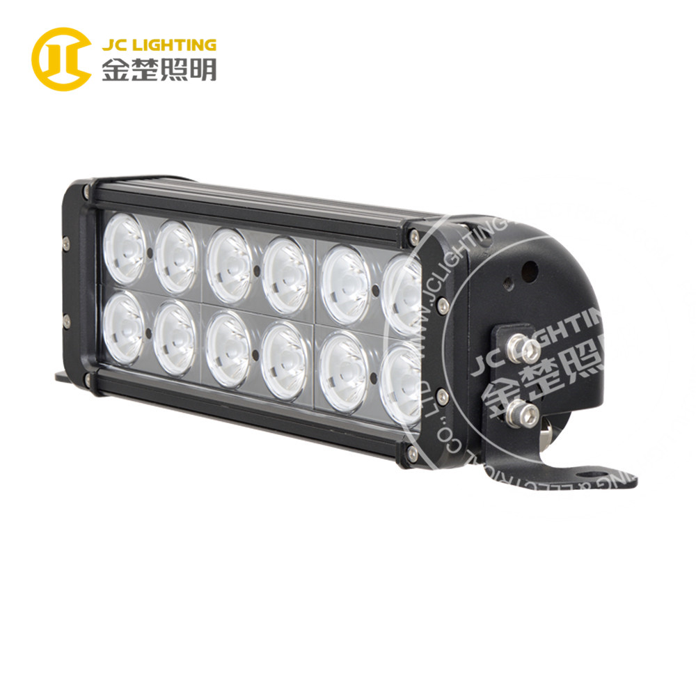 Factory Supply 12V Auto Part 11 Inch 120W LED Flood Work Light Bar for Police Car Communication Vehicle