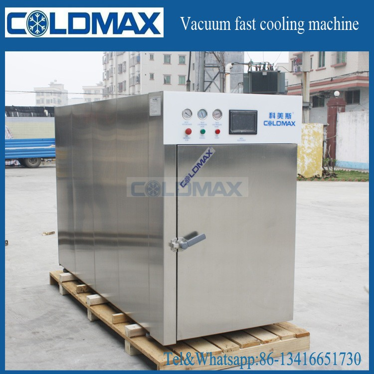 Cooked Bread/Pita/cookies/Bacon/Cooked Beef Vacuum Cooling Machine