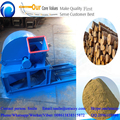 dust free little noise with cyclone wooden log tree branches crushing machine with best prices