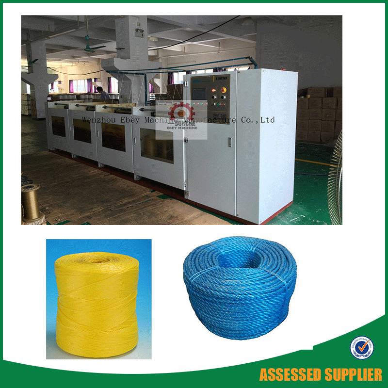 Double Twist Wrapping Machine Yarn Twisting Ring Twister