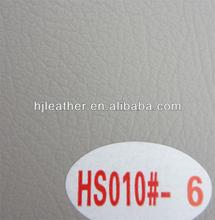 White color and PVC imitation leather for car seat cover