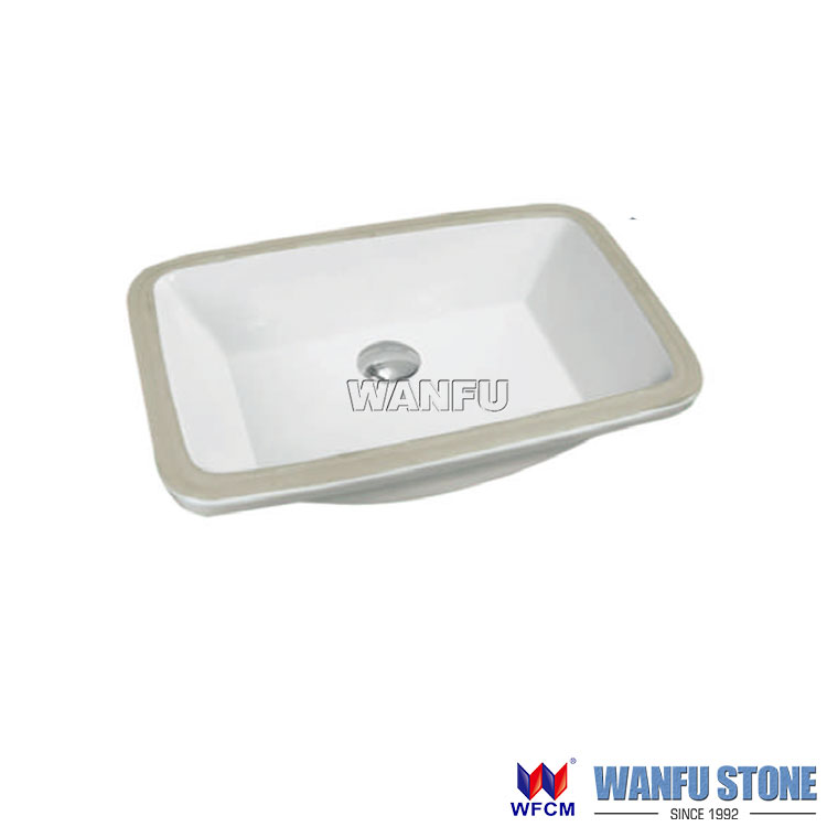 upc ceramic sinks rectangle undermount bathroom sinks