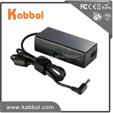 Wholesale New laptop ac/dc 19.5v 3.9a 75w notebook adapter for sony vaio adapter cargador