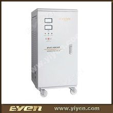 15kVA servo motor generator automatic vertical voltage regulator/voltage stabilizer with analog display