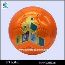 Ball Type Pvc Leather Shiny Laser Soccer Ball Standard Size 5 Football