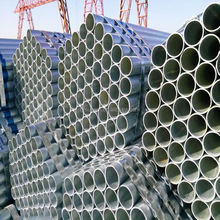 Hot dipped galvanized with BS 1387 standard penstock pipe
