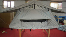 Double Layers camper trailer tent roof