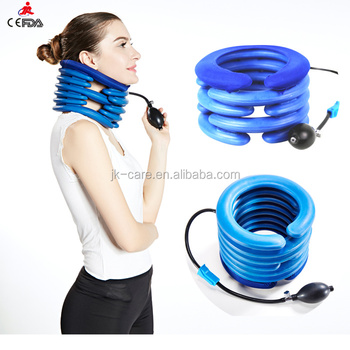 CE FDA certificated inflatable cervical neck brace with air pump