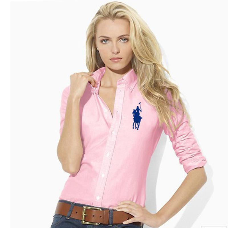 Buy Fashion sexy Brand Women  39 s Polo Shirt Long Sleeve Slim Fit blusas Polo  Women Shirts Casual Horse formal dress Shirts in Cheap Price on  m.alibaba.com f01b57fe7a