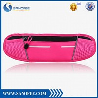 2015 new design microfiber cotton waist bag for iphone 6