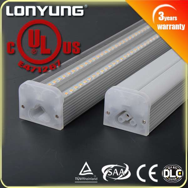 36W/40W 1.5m/5ft Double LED T5 Integrated Light UL, ETL,DLC,TUV,SAA,CE t5 40w fluorescent tube