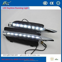 For BMW X5 E70 2007 - 2010 LED DRL Daytime Running Machine 12V 12W 6000K High Luminosity Integrated Kit Long Range OEM