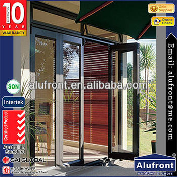 Double Glazed Thermally Broken Aluminium doors and windows Comply with Australian & NZ Standards/Aluminium Swing Door